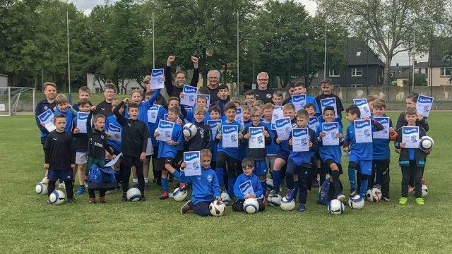 Erfolgreiche Fußballschule