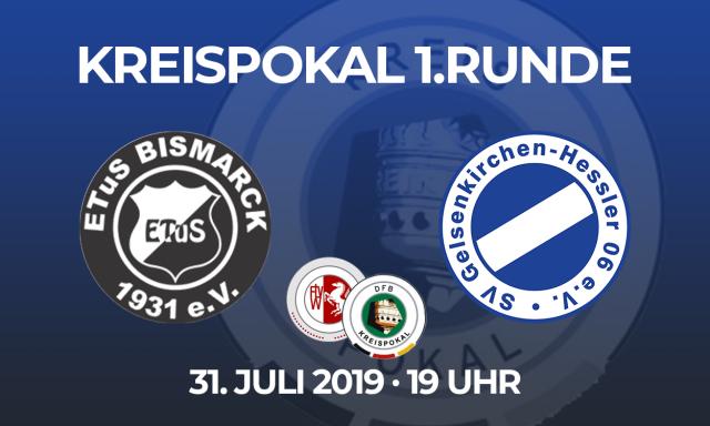 1. Runde im Kreispokal 2019/20