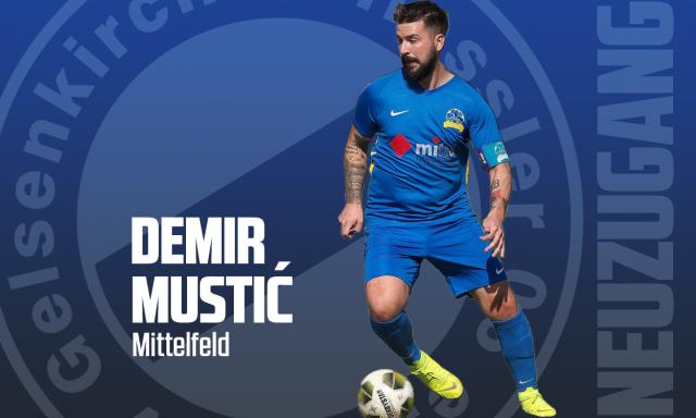 Demir Mustić verpflichtet